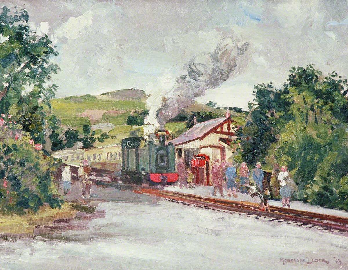 The Owain Glyndŵr at Devil's Bridge Station