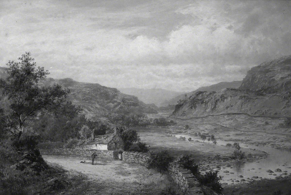 In the Lledr Valley, Betws-y-Coed