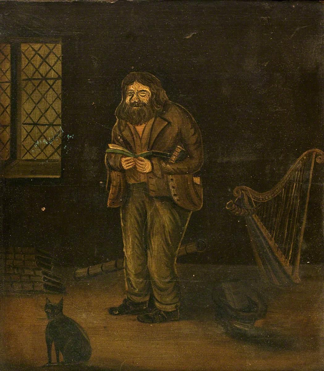 Dick Aber Daron, Old Welsh Poet (Richard Robert Jones, 1780–1843)