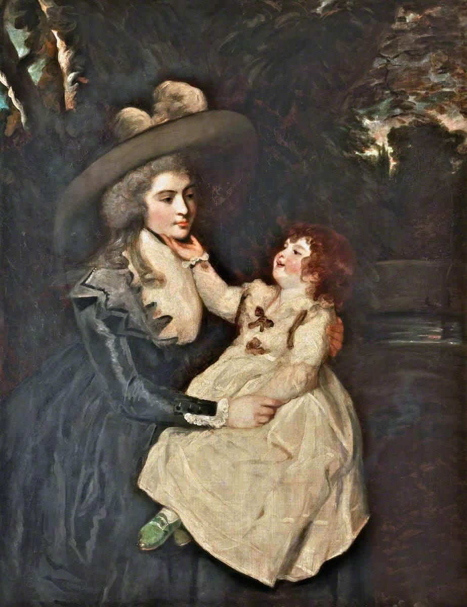 Mrs Seaforth and Child