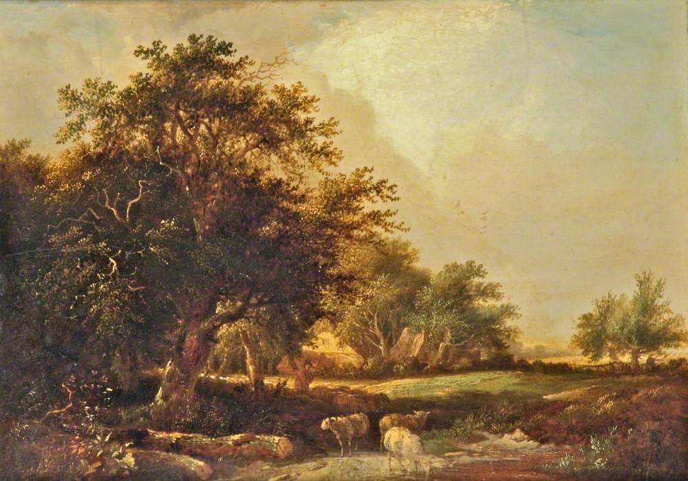 Wooded Landscape near Iver, Uxbridge