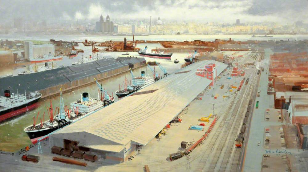 Vittoria Docks, Birkenhead, Wirral