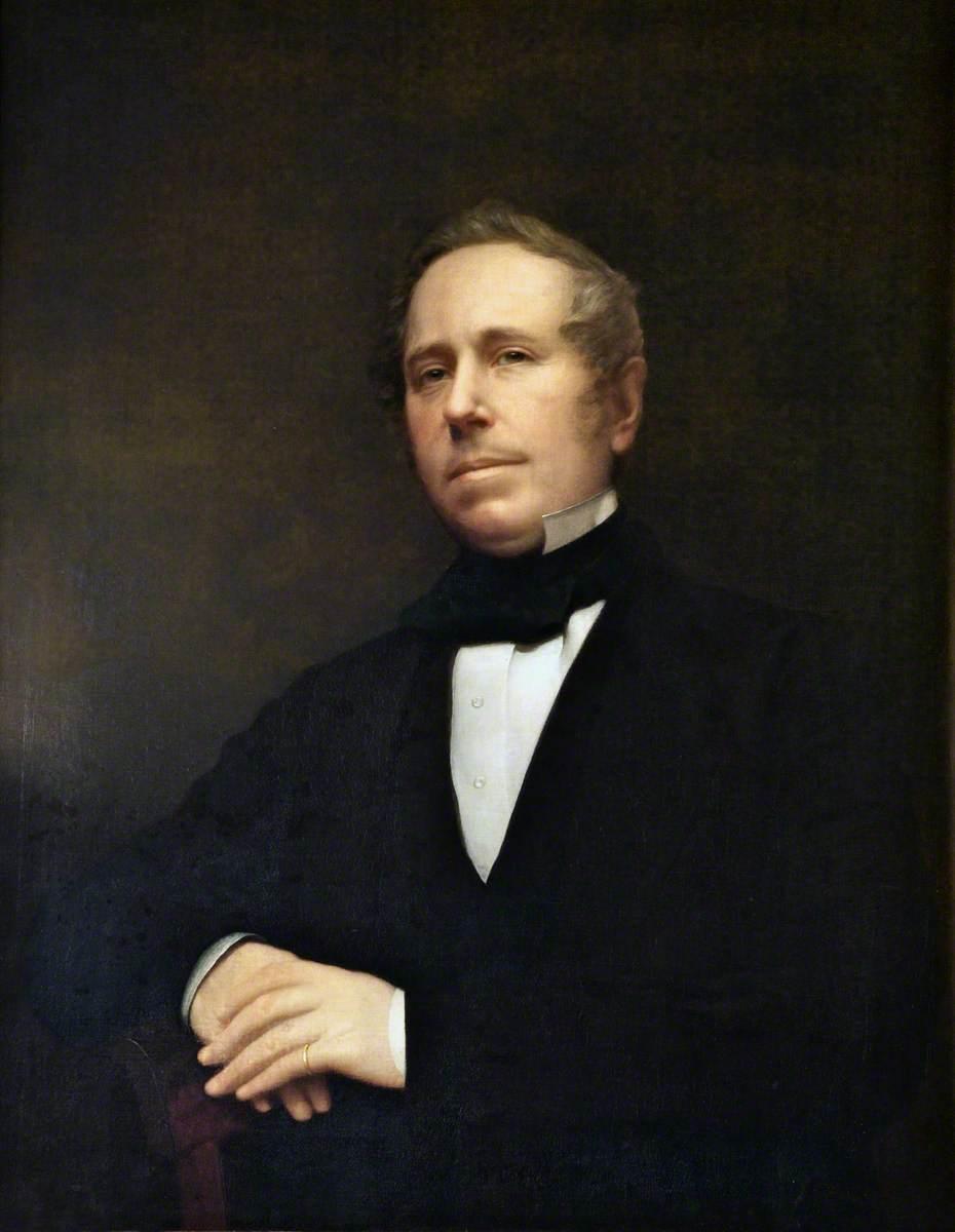 John Perris (1805–1872), Librarian of the Lyceum (1844–1872)