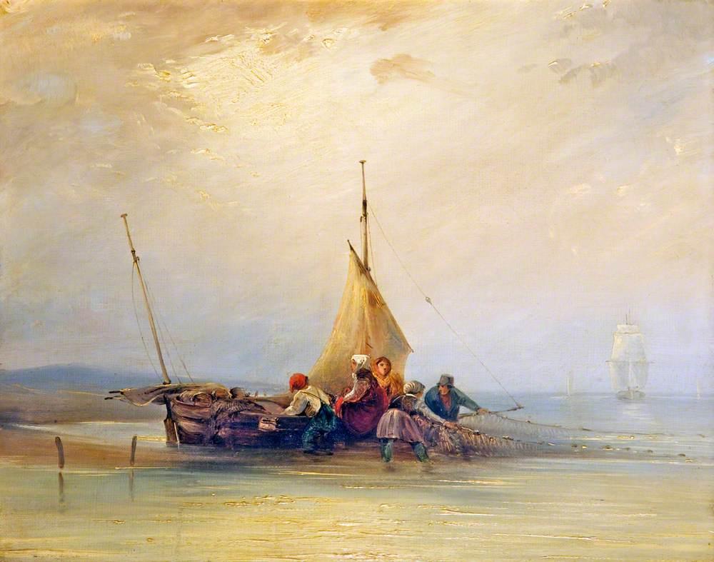 Sea Piece, Fishing Nets