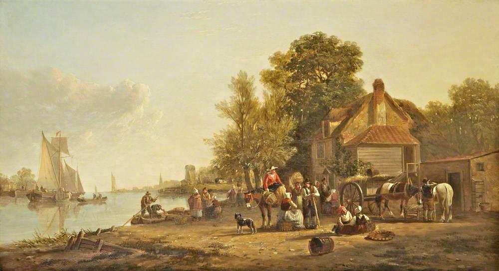 Dutch River Scene