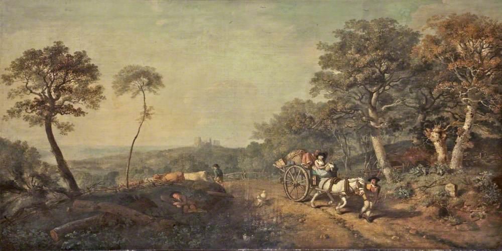 Landscape with a Pedlar's Cart