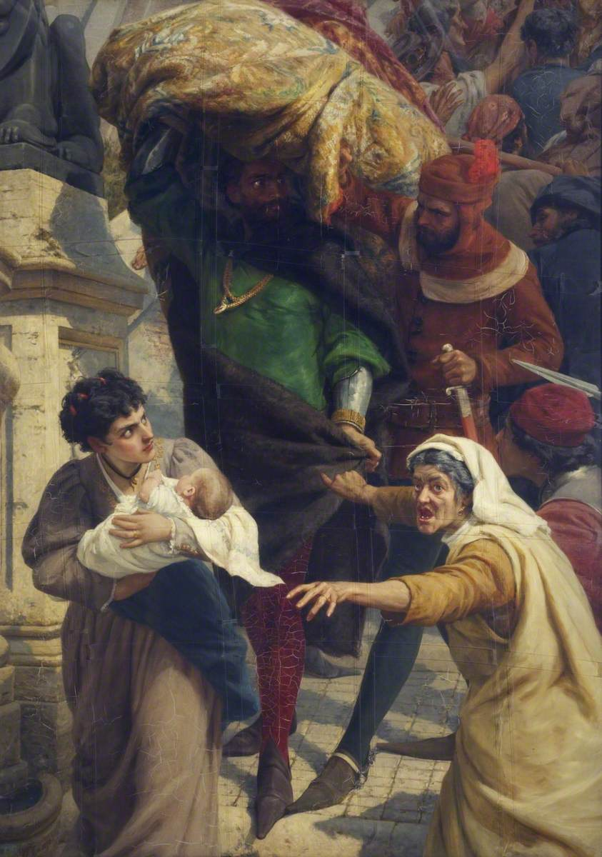 The Fall of Rienzi, the Last Roman Tribune
