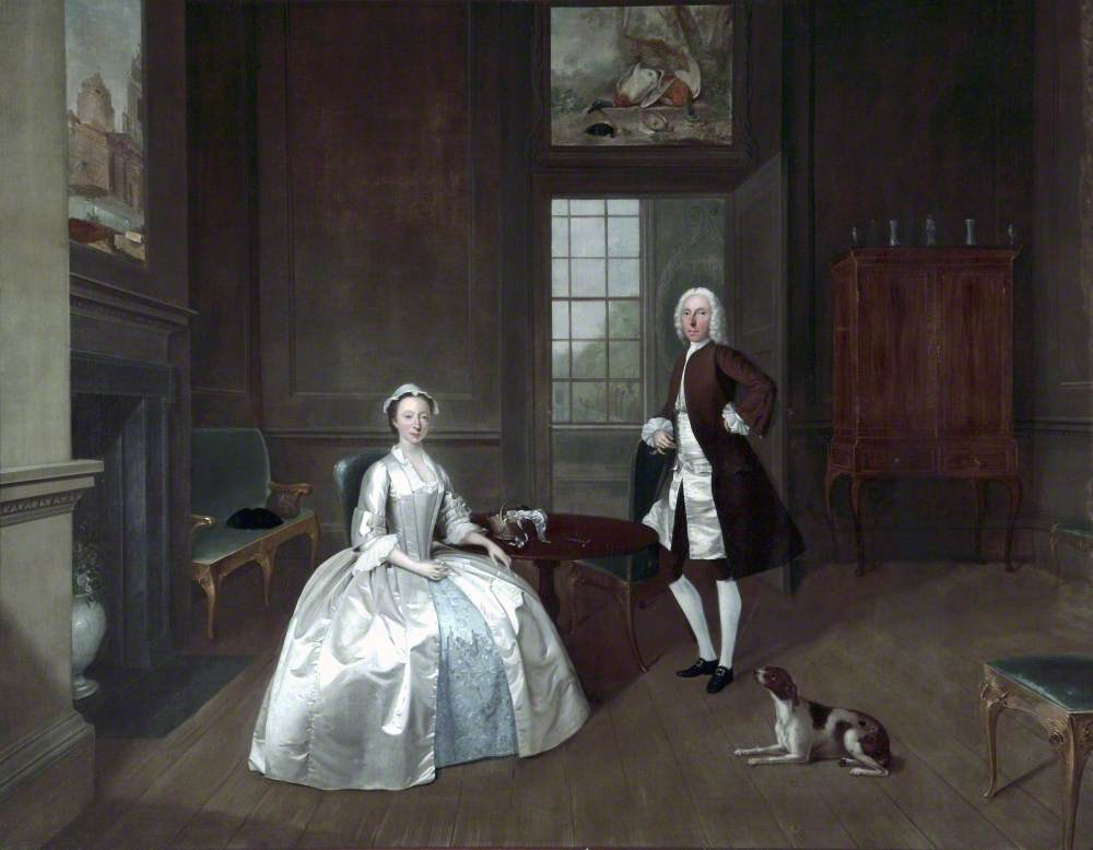 Mr (1703–1745), and Mrs William Atherton