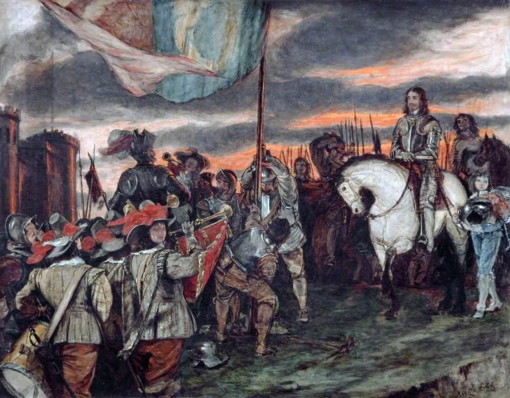 Charles I Raising His Standard at Nottingham