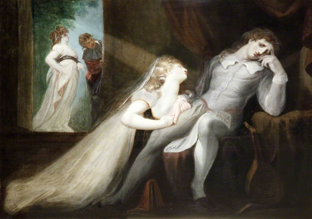 The Return of Milton's Wife