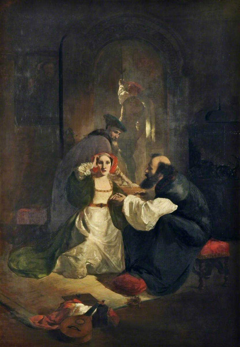 Cranmer Endeavouring to Obtain a Confession of Guilt from Catherine Howard