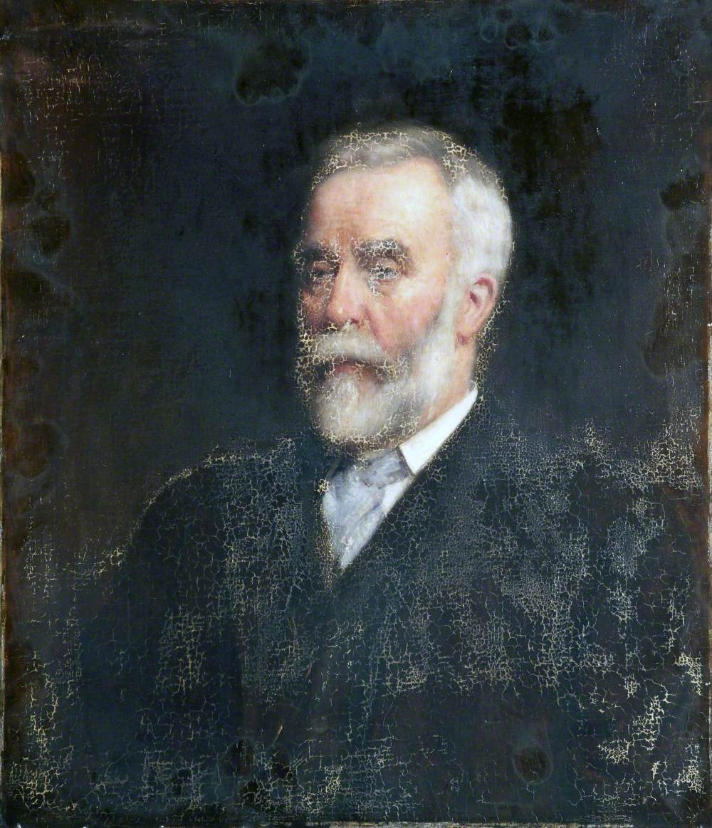 Portrait of a Man with a White Beard