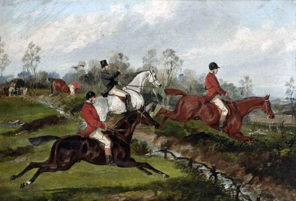 Fox-Hunt, Taking a Fence