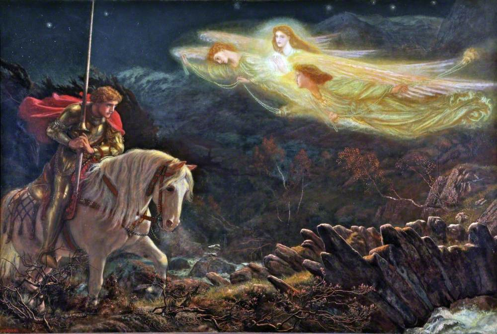 Sir Galahad, the Quest for the Holy Grail