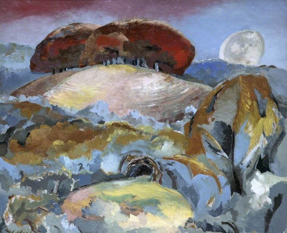 Landscape of the Moon's Last Phase