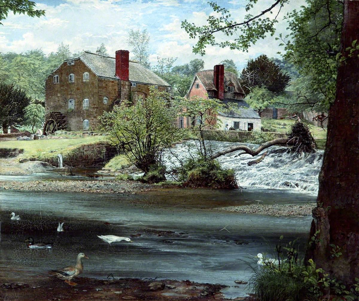 Mill on the Alyn, Denbighshire