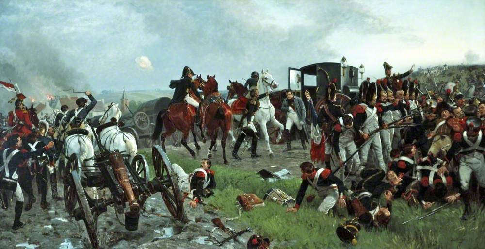 On the Evening of the Battle of Waterloo
