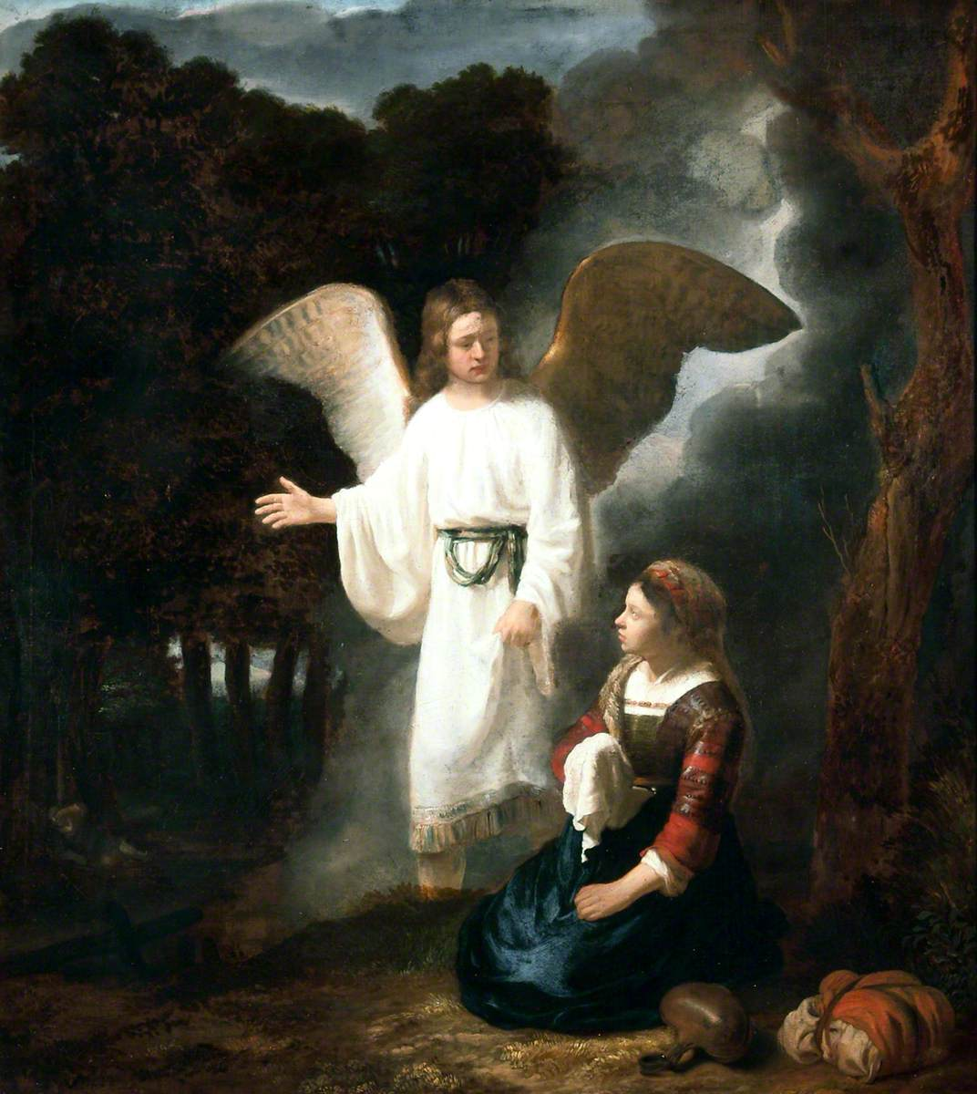 The Angel Appearing to Hagar