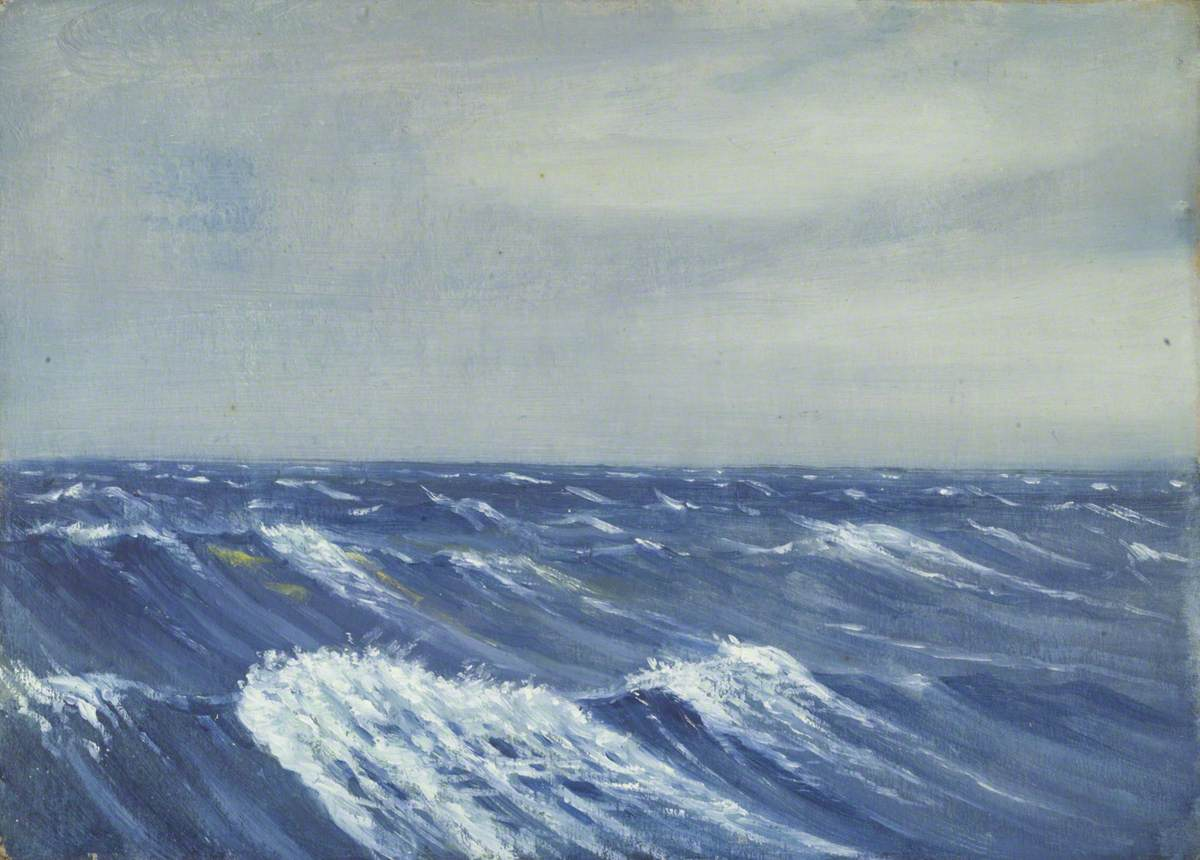 Seascape from the 'Umberleigh'