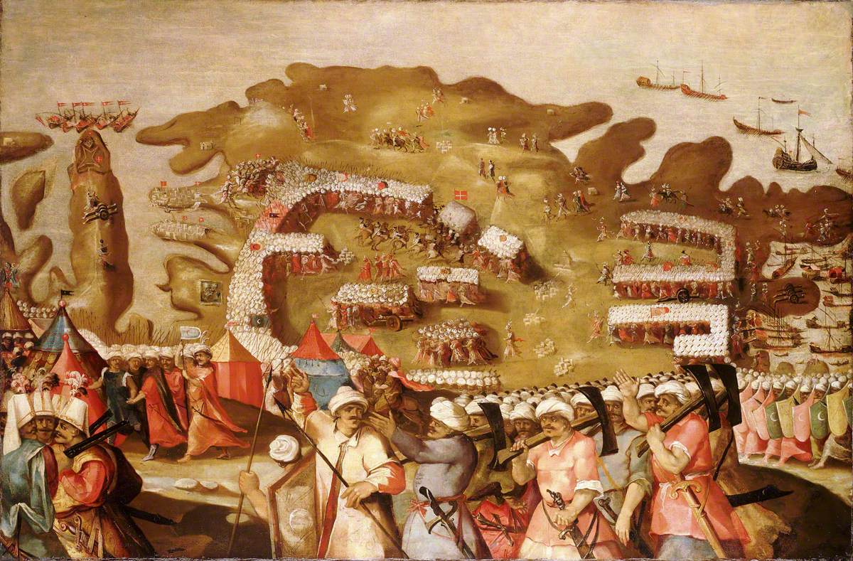The Siege of Malta: Arrival of the Turkish Fleet, 20 May 1565