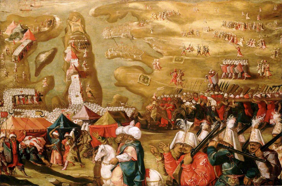 The Siege of Malta: Siege and Bombardment of Saint Elmo, 27 May 1565