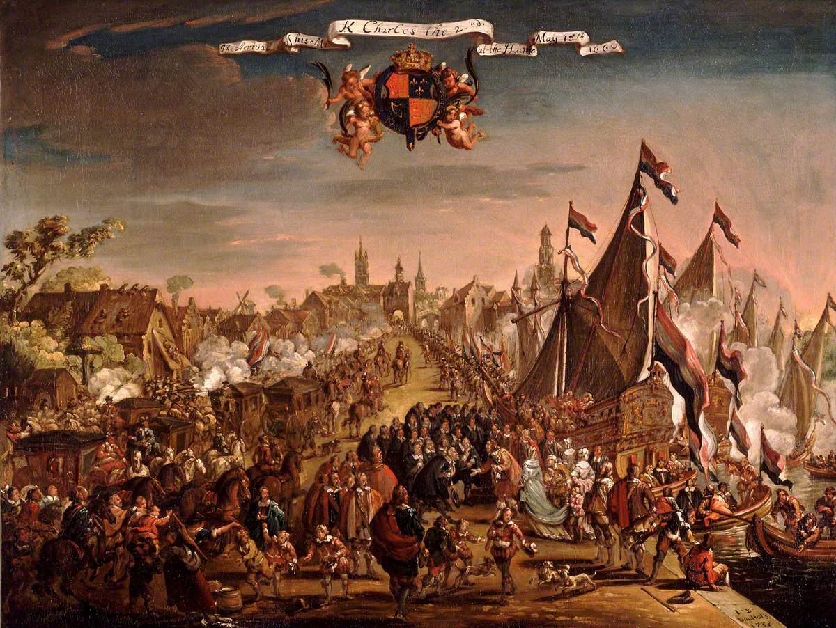The Arrival of Charles II at The Hague, 15 May 1660