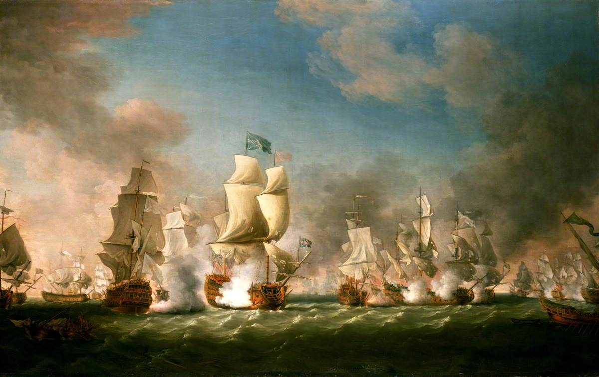 The Battle of Cape Passaro, 11 August 1718