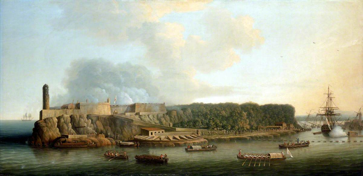 The Capture of Havana, 1762: The Morro Castle and the Boom Defence before the Attack