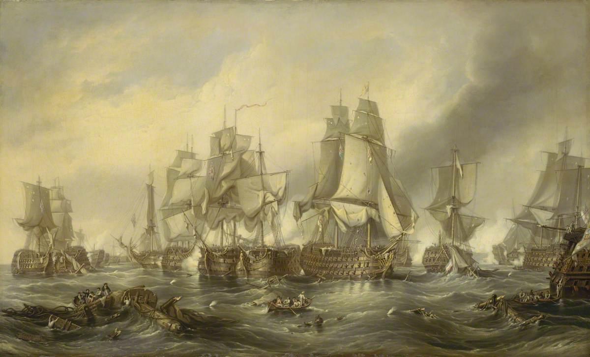 The Battle of Trafalgar, 21 October 1805: Death of Nelson