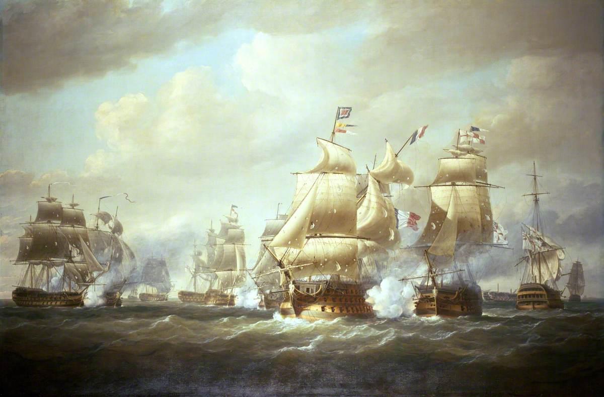 Duckworth's Action off San Domingo, 6 February 1806