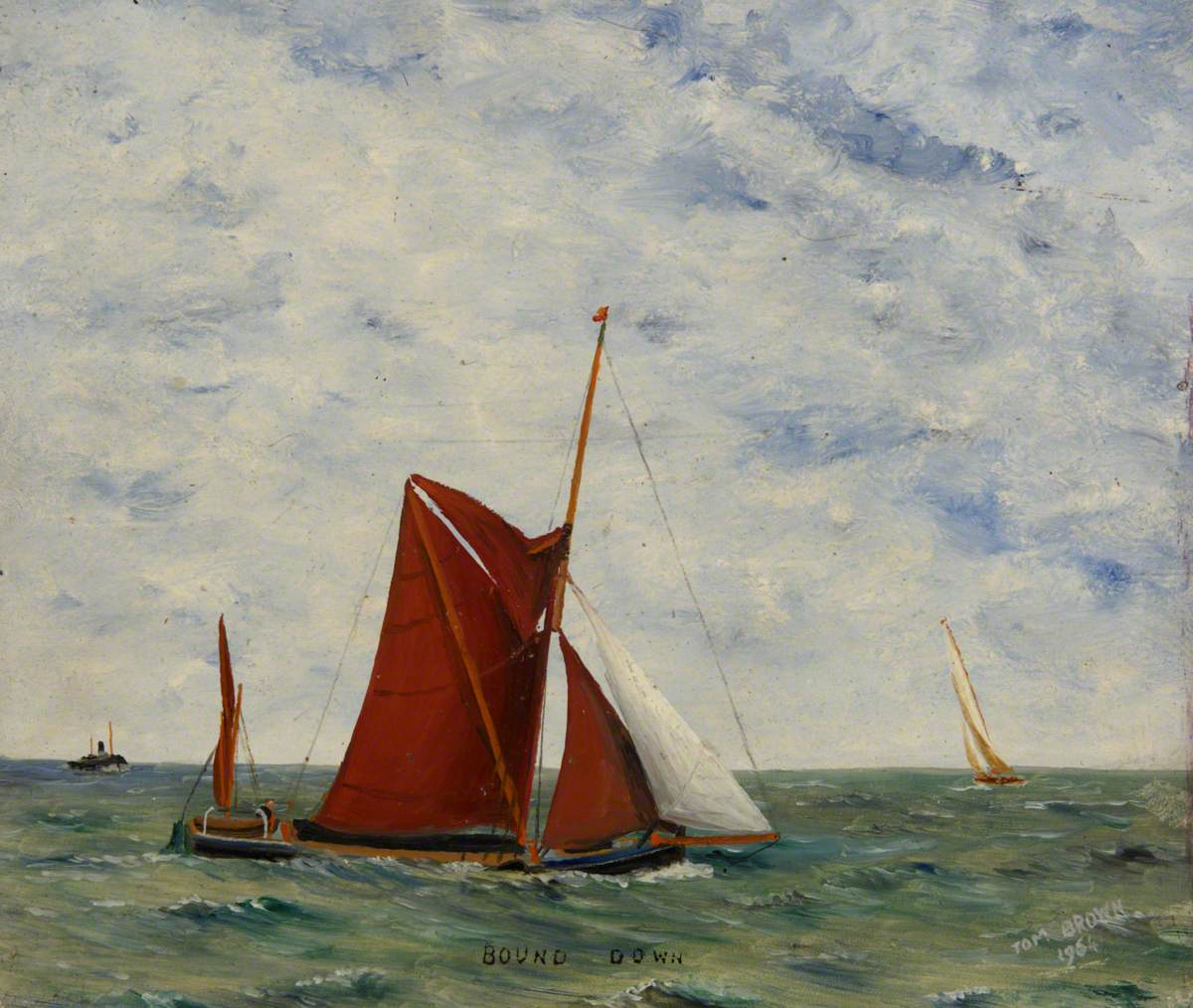A Sailing Barge