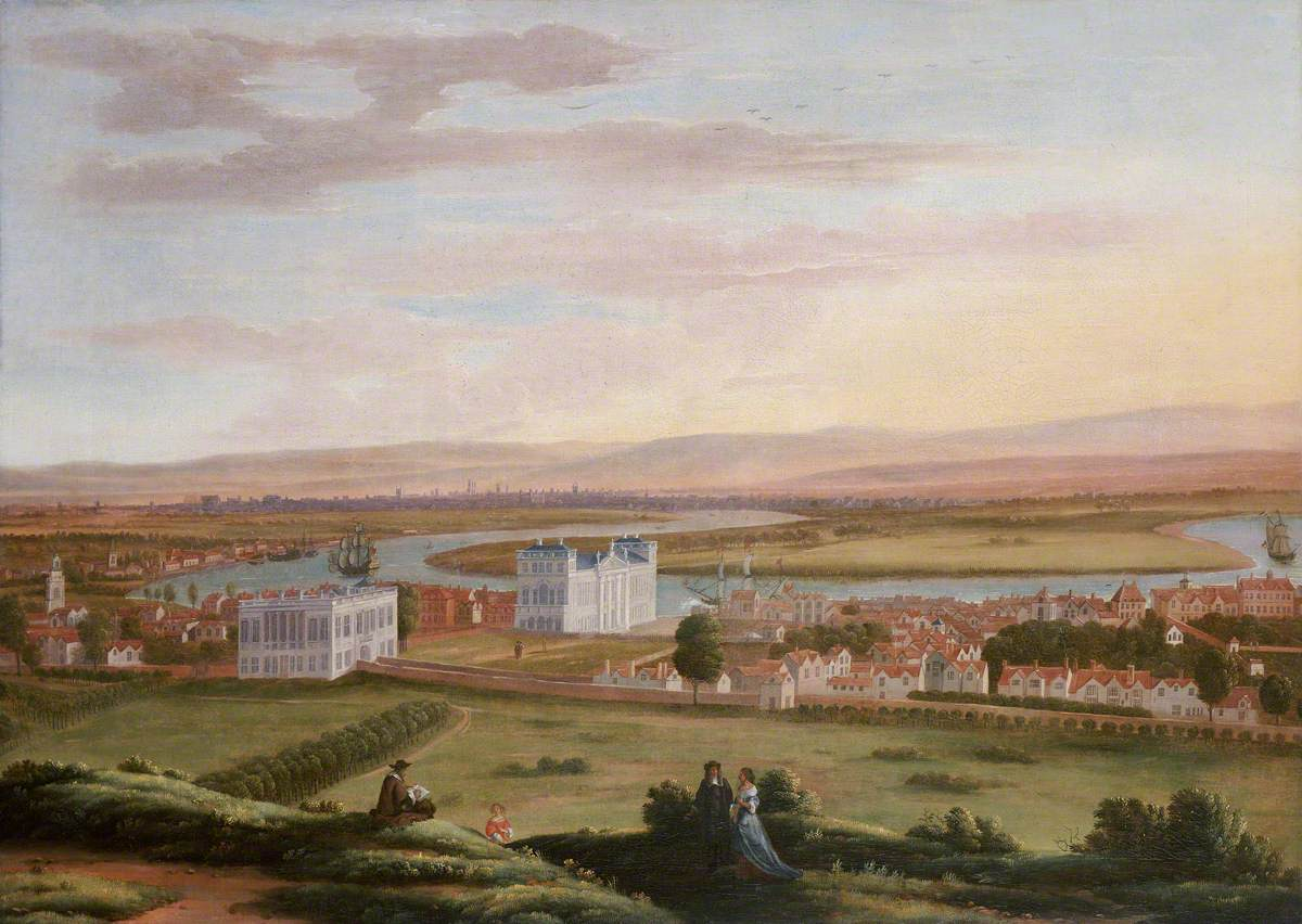 A View of Greenwich and the Queen's House from the South-East