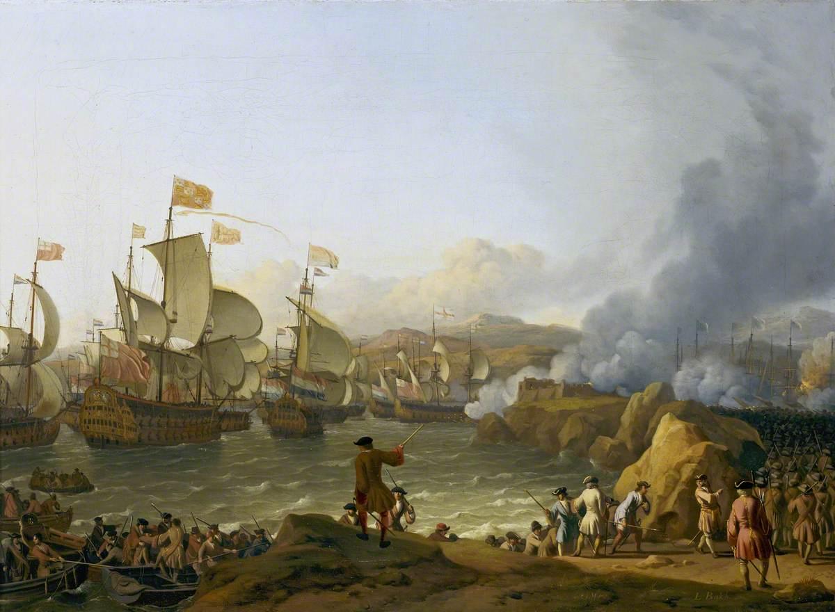 The Battle of Vigo Bay, 12 October 1702