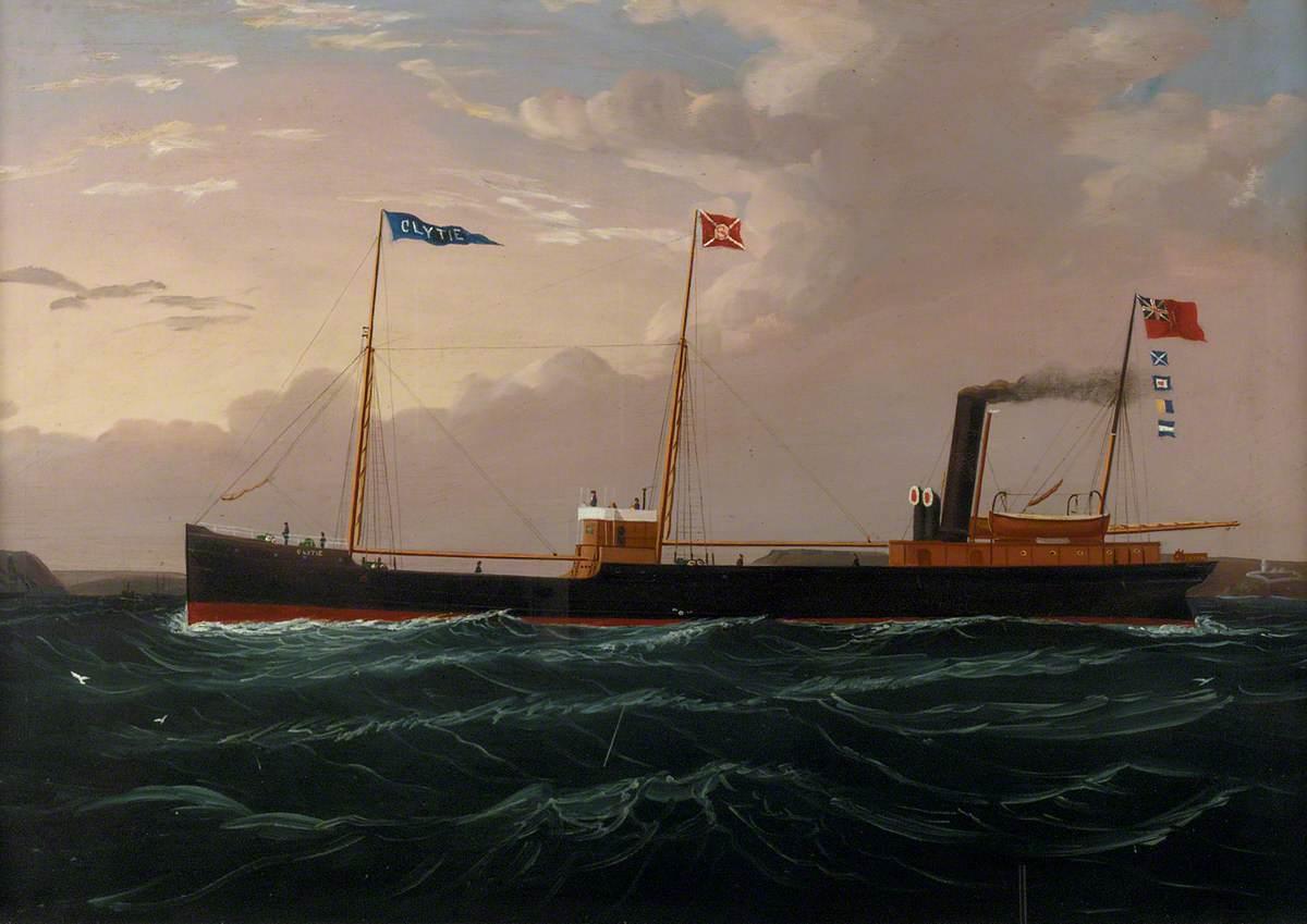 The Steam Collier 'Clytie'