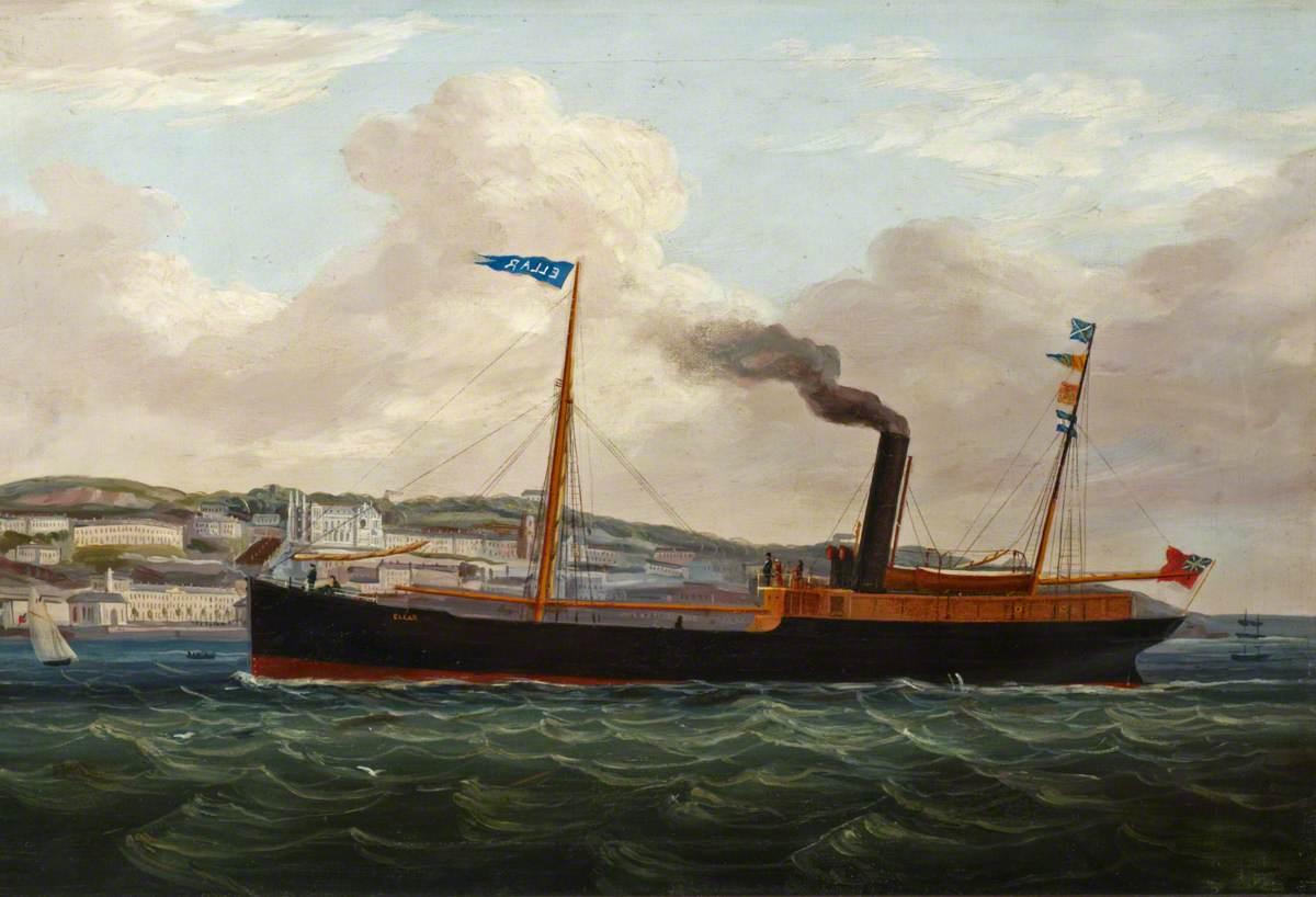 The Steam Collier 'Ellar'