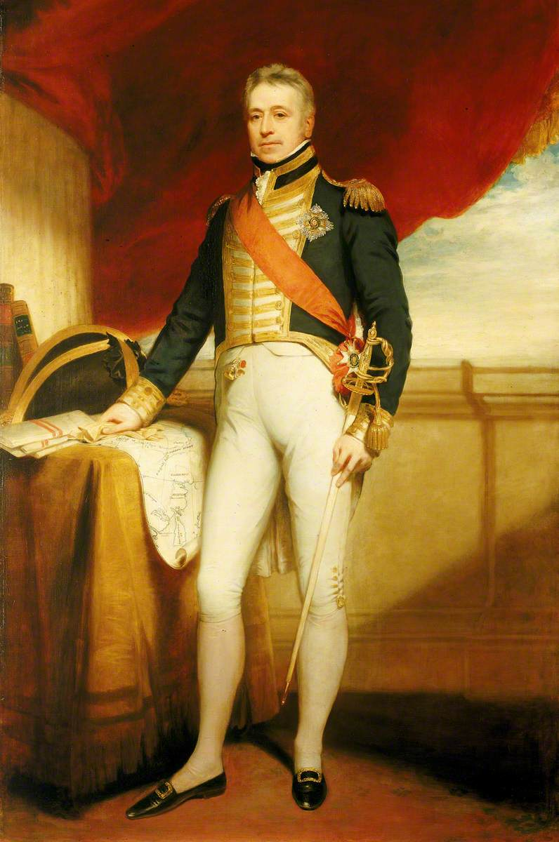 Vice-Admiral Sir George Cockburn (1772–1853)