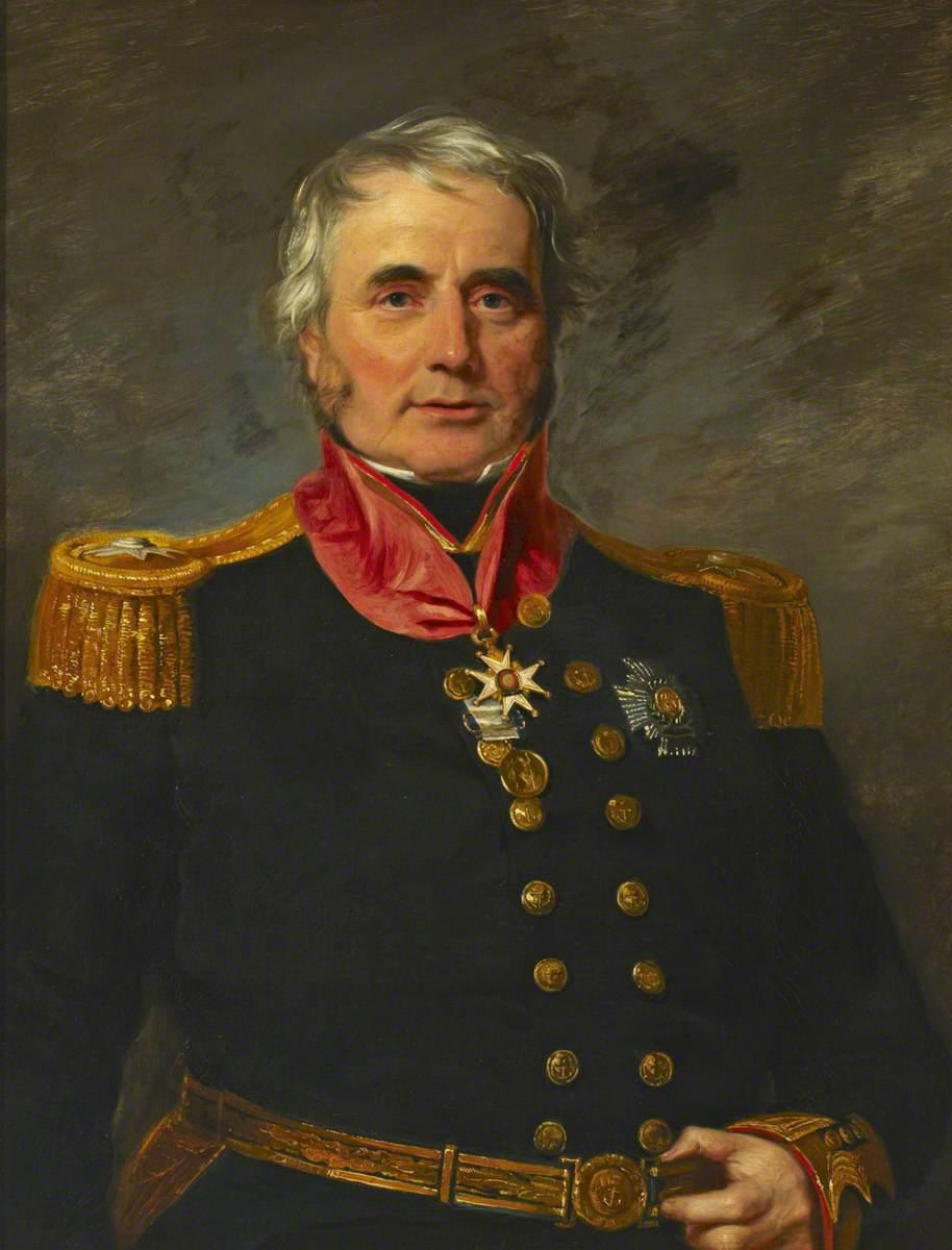 Rear Admiral Sir James Alexander Gordon (1782–1869)