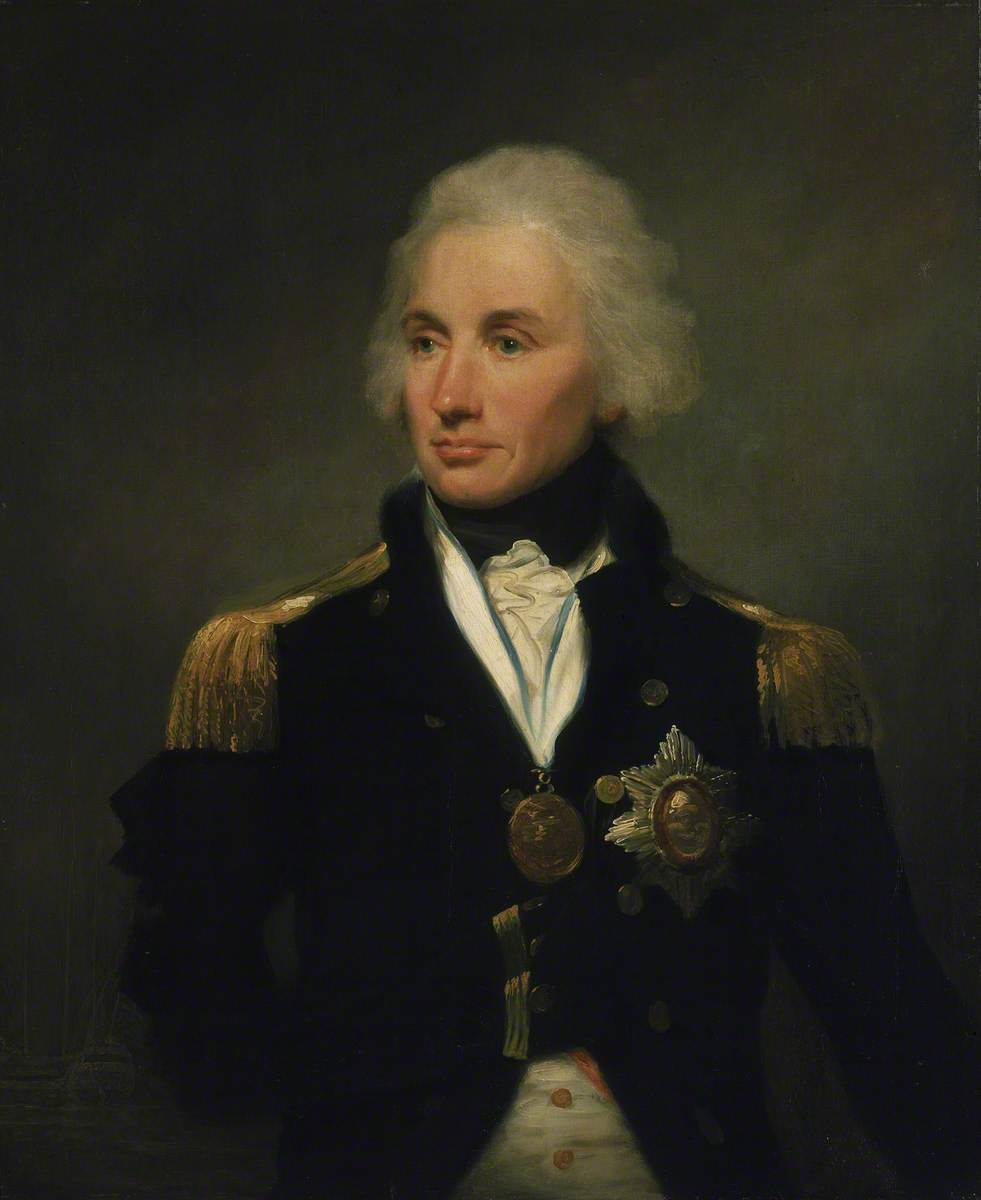 Vice-Admiral Horatio Nelson (1758–1805), 1st Viscount Nelson