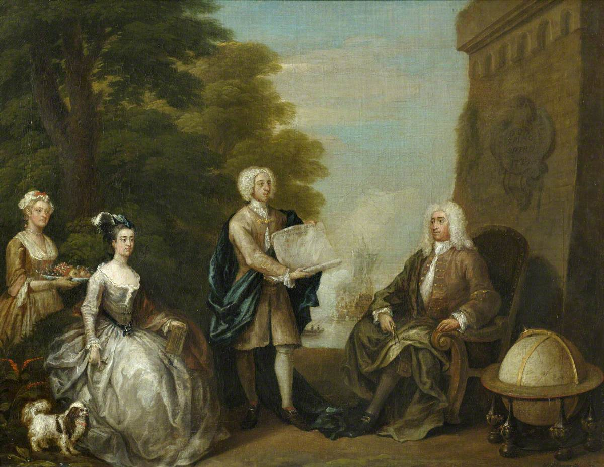 Woodes Rogers (c.1679–1732), and his Family