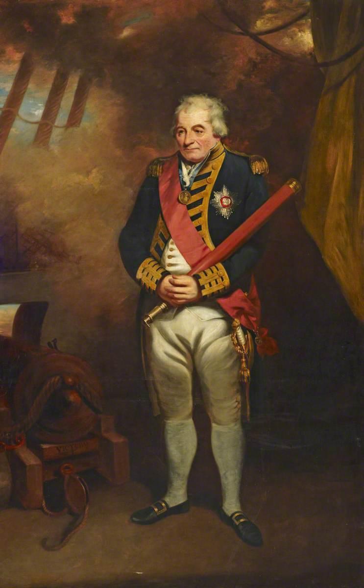 Admiral John Jervis (1735–1823), 1st Earl of St Vincent