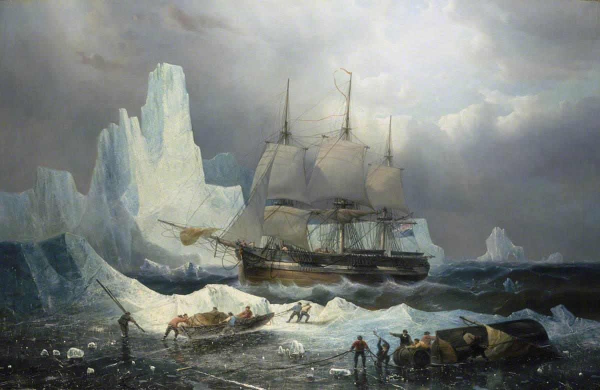 HMS 'Erebus' in the Ice, 1846