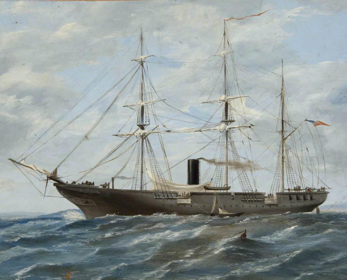 The Sloop USS 'Kearsage'