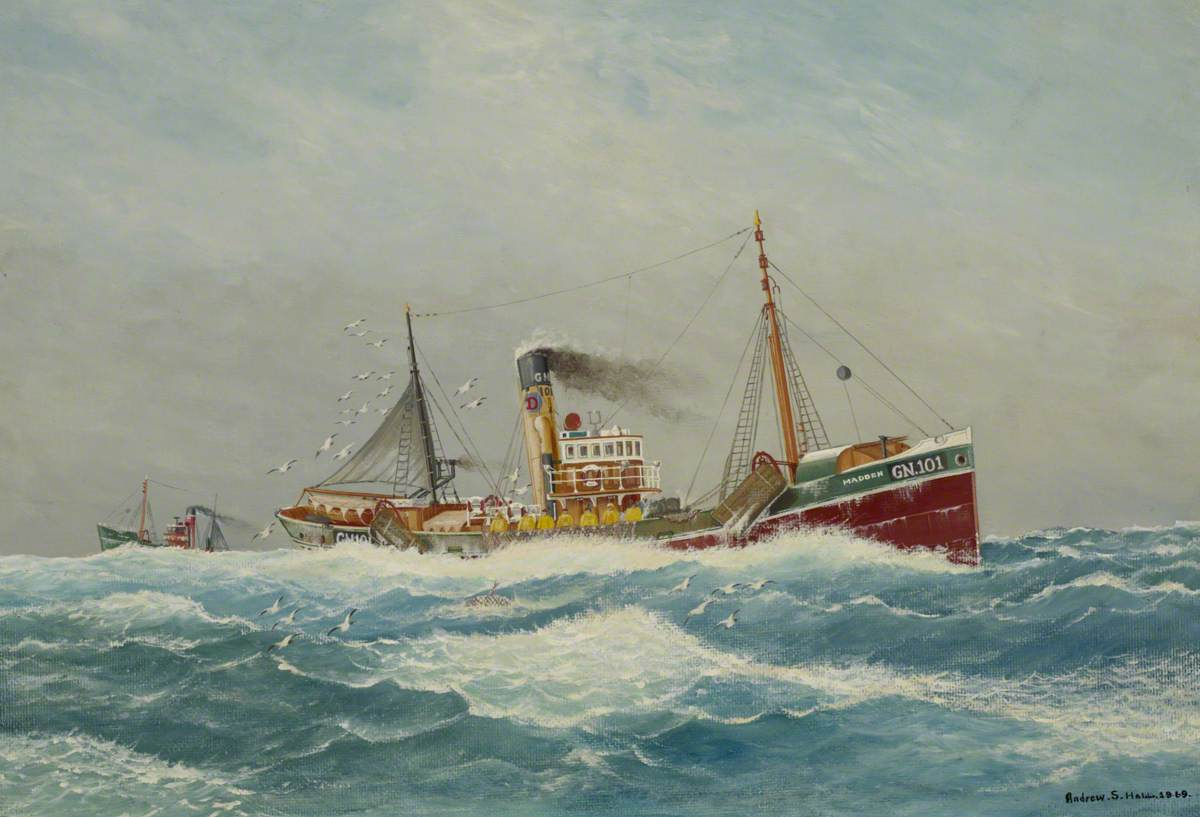 The Trawler 'Madden'