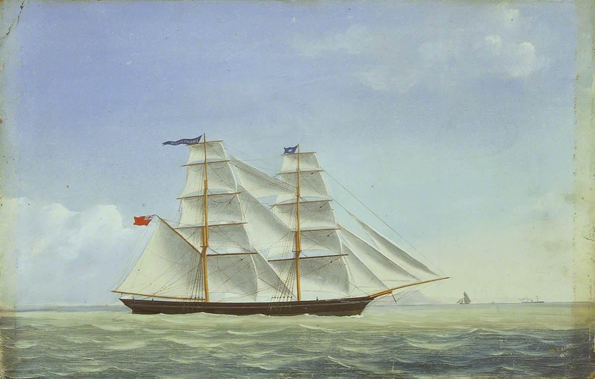 The Brig 'Martha Edmonds'