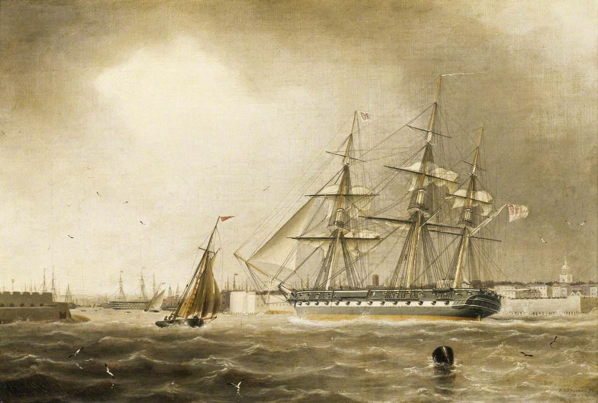 HMS 'Raleigh'