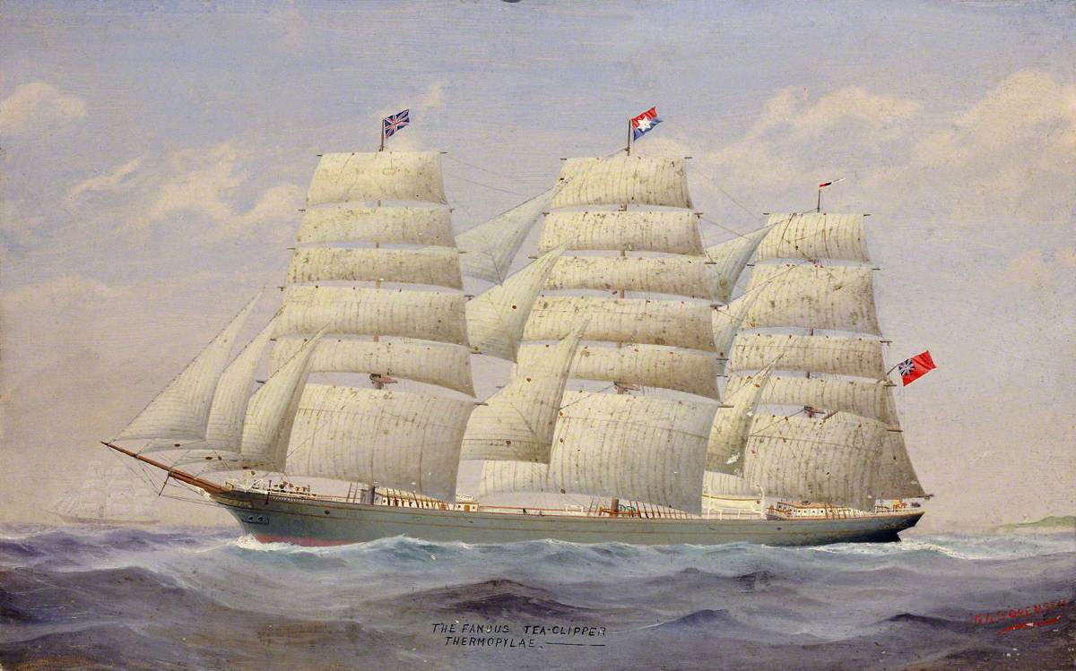 The Tea Clipper 'Thermopylae'