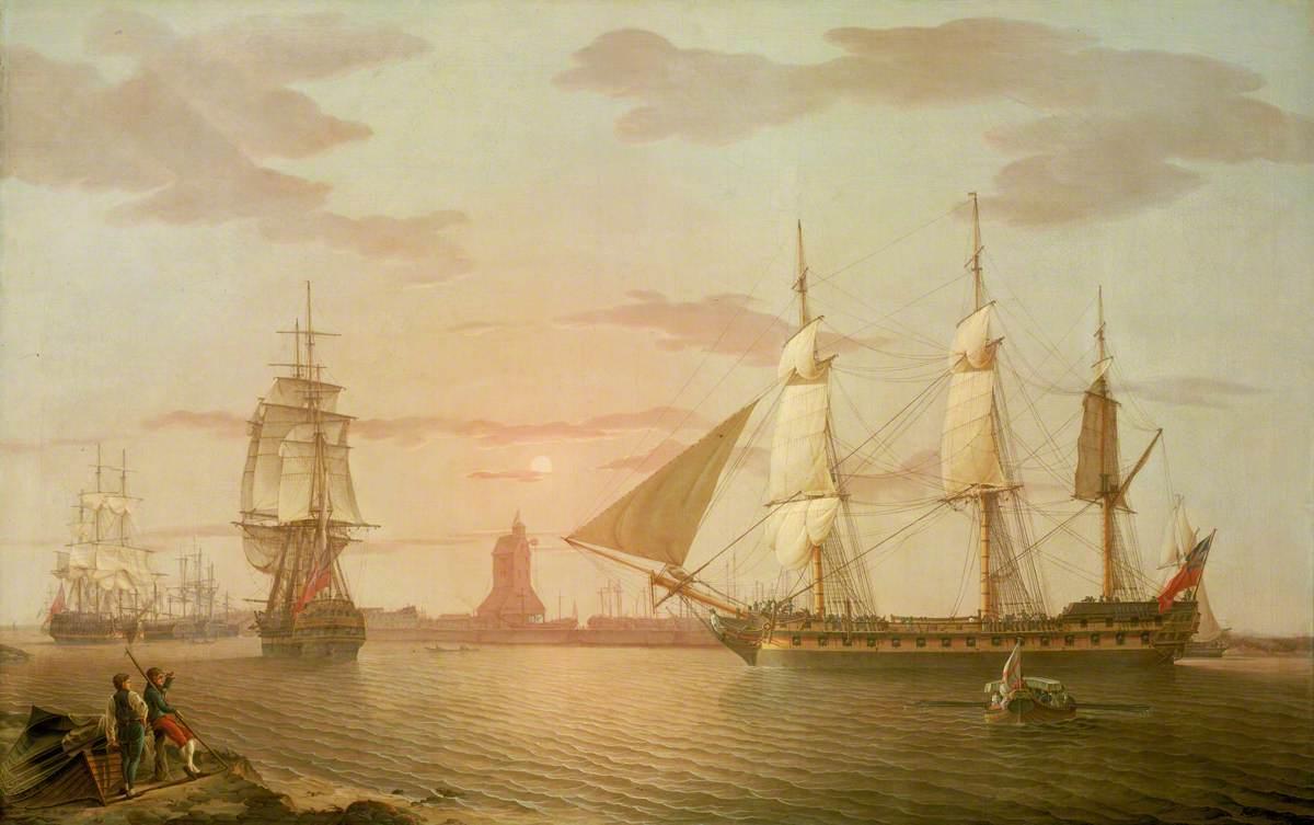 The East Indiaman 'Warley'
