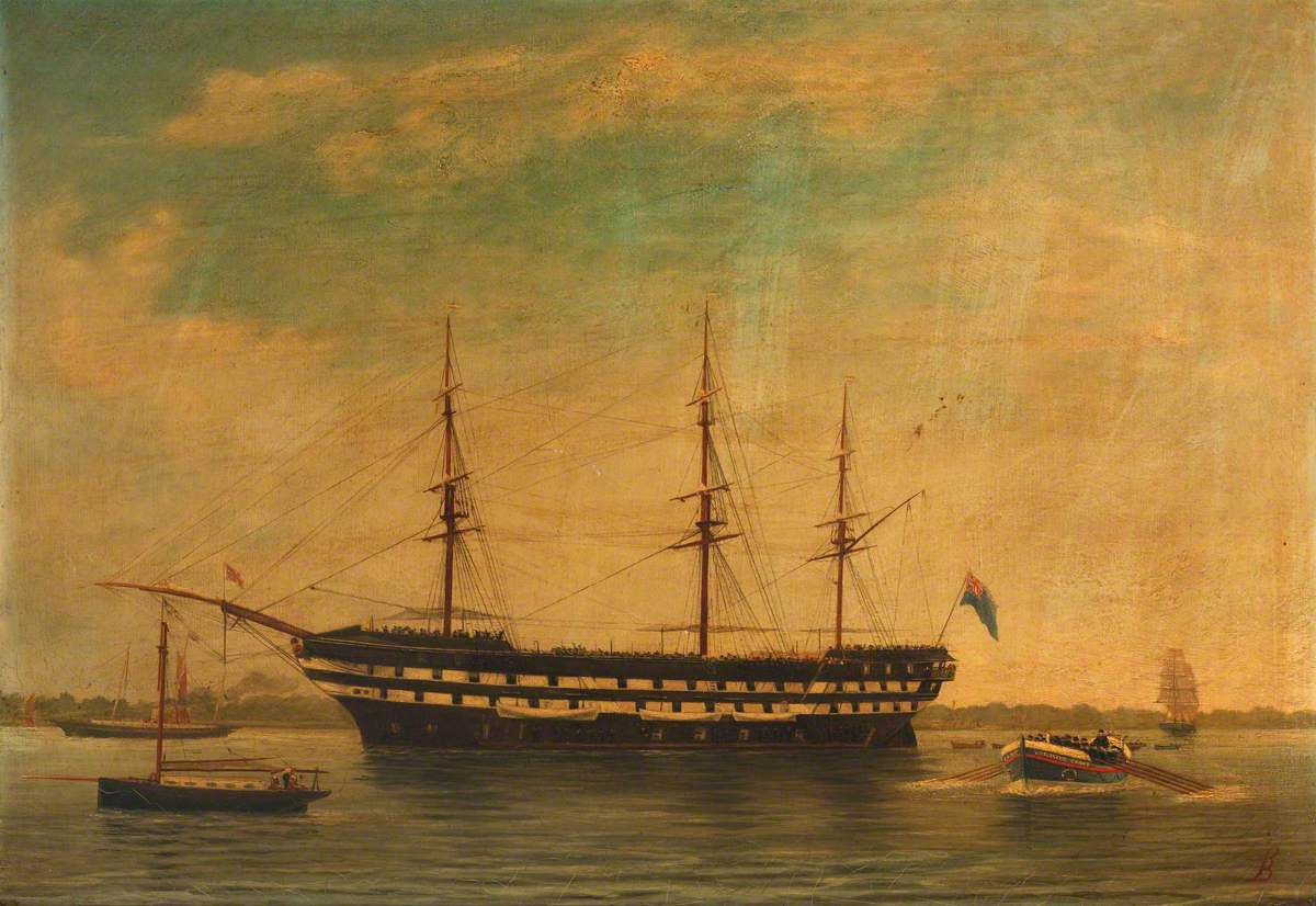 The Training Ship HMS 'Worcester'