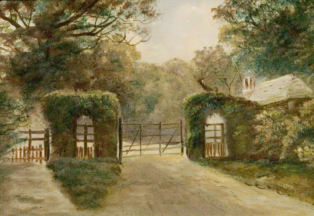 Lodge Gates, Thoresby Estate, Nottinghamshire