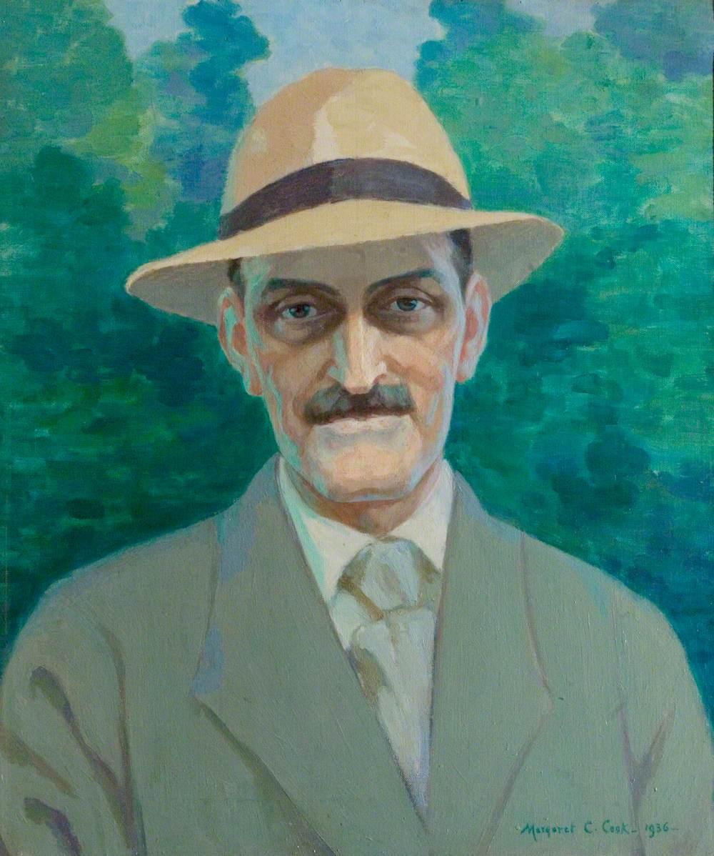 Posthumous Portrait of Albert Sorby Buxton (1867–1932)